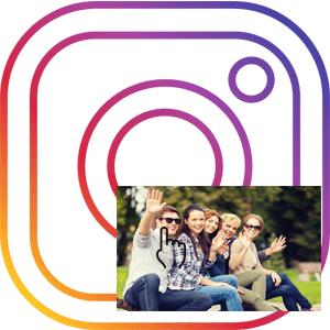 Логотип Как отметить человека на фото в Instagram