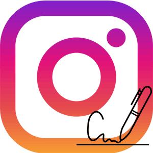 Подпись в Инстаграм