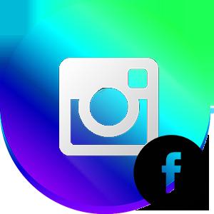 Инстаграм фейсбук логотип