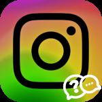 Инстаграм кнопка связаться логотип