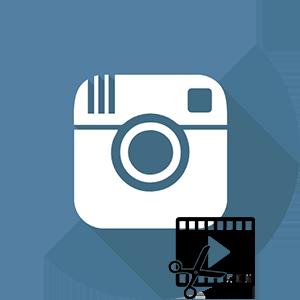 Инстаграм логотип редактор видео