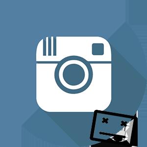 Инстаграм неизвестная ошибка логотип