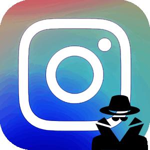 Смотреть историю Анонимно в Инстаграме логотип