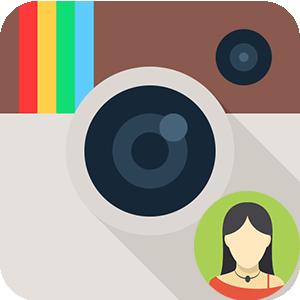 Инстаграм посмотреть аватарку полностью логотип