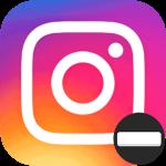 Пробел в Инстаграме логотип
