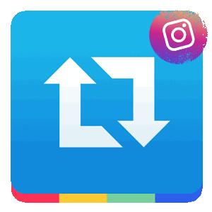 Repost gor Instagram логотип