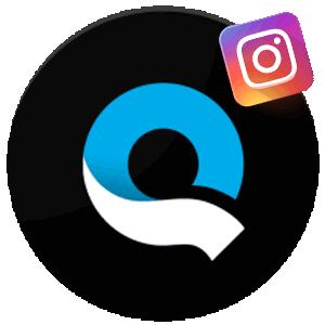 Редактор Quik для Инстаграма логотип
