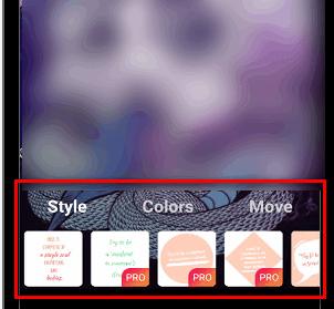 Пример шаблонов в HypeText для Инстаграма