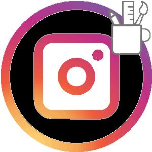 Раскладки в Инстаграме логотип