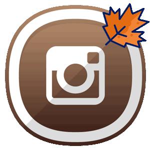 Инстаграм пост про осень логотип