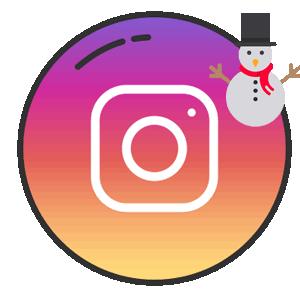 Инстаграм зимний пост логотип
