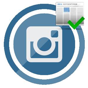 Подписка в Инстаграме логотип