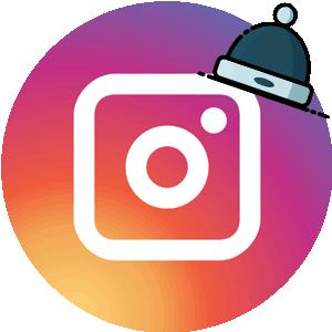Маска Хабиба логотип в Инстаграм