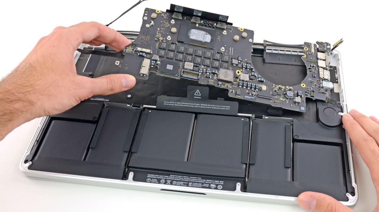 Как и где починить MacBook?