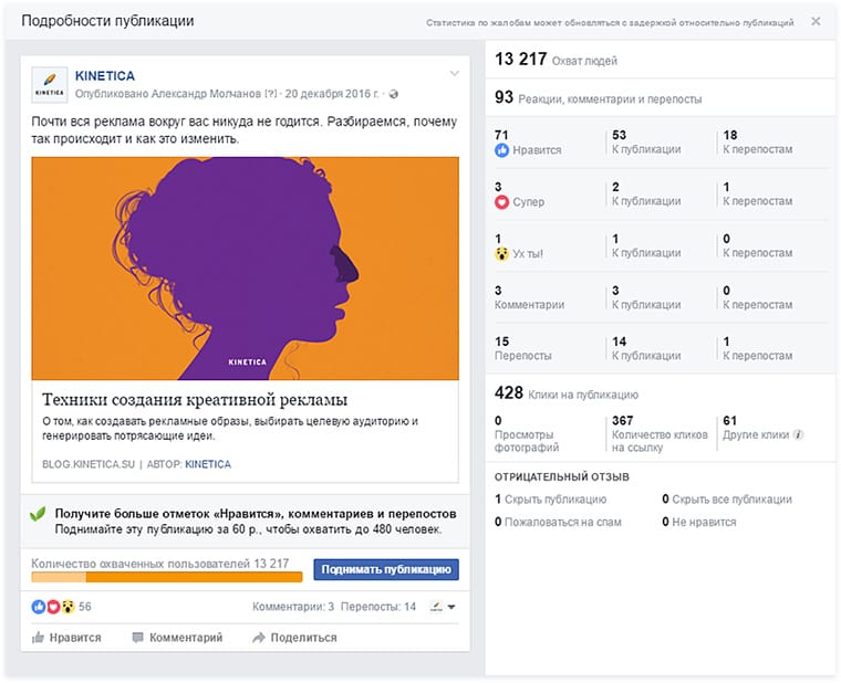 Как настроить рекламу в Instagram через Facebook